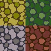 Pattern khaki set — Stock Vector