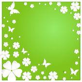 紙の花 — ストックベクタ