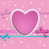 κάρτα καρδιά — Διανυσματικό Αρχείο
