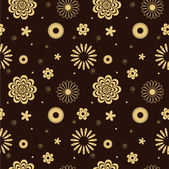 Seamless brown — Stock Vector