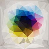 Polygonal background vector — Vector de stock