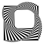 Modern black and white background — ストックベクタ