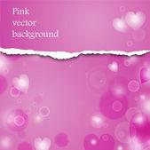 Pink vector background — Cтоковый вектор