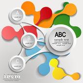 Infographics ABC — Stock vektor