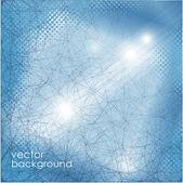 абстрактный синий фон. — Cтоковый вектор