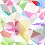 Multicolored background polygon — Stock Vector