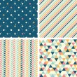 Seamless patterns — Stock Vector #31562257