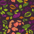 Stockvector : Seamless autumn pattern