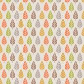 Naadloze herfst patroon — Stockvector