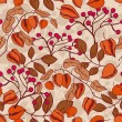Seamless autumn pattern — Stockvector #31923261