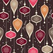 Seamless christmas pattern — Stock Vector #31994573