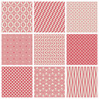 Seamless patterns — Stock Vector #32867727