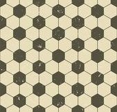 Seamless vintage soccer pattern — Stock Vector