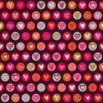 Seamless heart pattern — Stock Vector #35466655