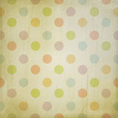 Grunge background with pastel dots — Stock Photo