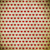 Grunge background with hearts — Stock Photo