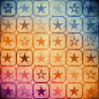 Grunge stars background — Foto de Stock