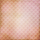 Vintage background with hearts — Stok fotoğraf