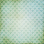 Vintage background with hearts — Stock Photo