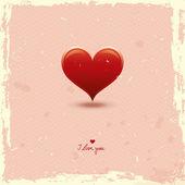 Romantic card — Stockvektor