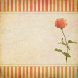 Stock Photo: Vintage greeting card