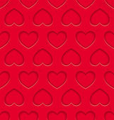 Seamless pattern with hearts — Vecteur