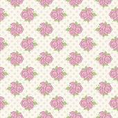 Patrón sin costuras rosas — Vector de stock