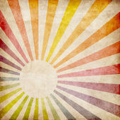 Colorful grunge rays background — Stock Photo