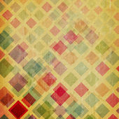 Grunge background with squares — Stock Photo