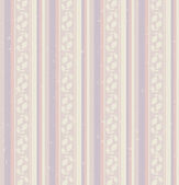 Seamless stripes pattern with leaves — Stok Vektör