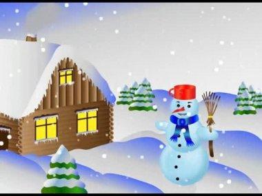 Snowing2 — Stock video