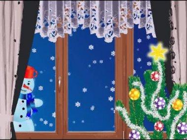 Snowman 2 — Stock Video