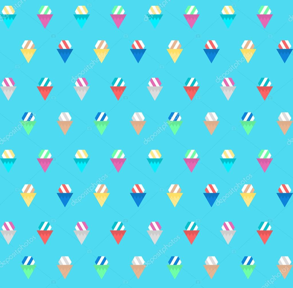 Ice Cream Cone Cool Wallpapers Hd Desktop Wallpaper: Ice Cream Pattern Background