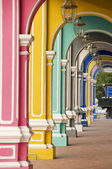 Colourful Arches, George Town, Penang, Malaysia — Stock Photo