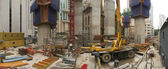 Building Site Panoramic — Stock Photo
