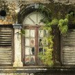 Stock Photo: Derelict Window, George Town, Penang Malaysia