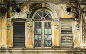 Derelict Window 4, George Town, Penang Malaysia — Stock Photo