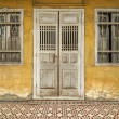 Stock Photo: Old Yellow Heritage House