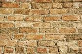 Vecchio muro di mattoni — Foto Stock