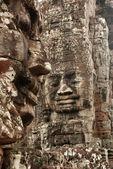 Stone Faces, Bayon Temple, Angkor Wat,Cambodia — Stock Photo