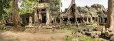 Preah Kahn Temple at Angkor Wat, Cambodia — Stock Photo