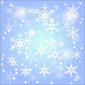 Vinterlandskap — Stockvektor