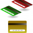 Stock Vector: Vector Credit Cards