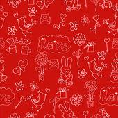 Carta per san valentino — Vettoriale Stock