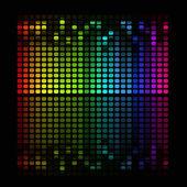 Abstraktní hudební ekvalizér — Stock vektor