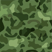 Sample seamless camouflage in the colors of the forest — Stockvektor