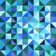 Vector rumpled abstract background — Imagens vectoriais em stock