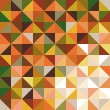 Abstract background for design, geometry in yellow and orange colors — Stock vektor