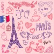 Stock Vector: Paris. love template vector/illustration