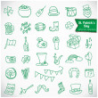 St. Patrick's Day Vector Icons — Stock Vector #38755513